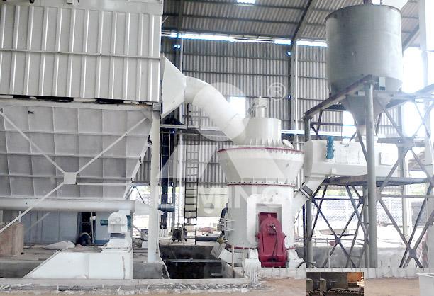 lm立式磨粉机配置-某石粉加工厂配置
