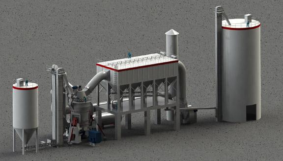 lm立式磨粉机配置-工作原理