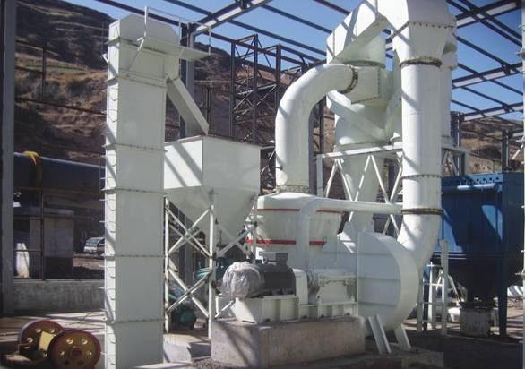 高压悬辊式磨粉设备|石膏再利用设备|石膏磨粉设备
