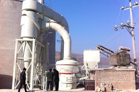 电厂脱硫石灰石生产设备