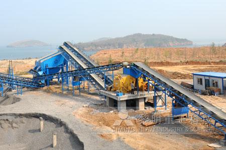 磷矿石破碎生产线