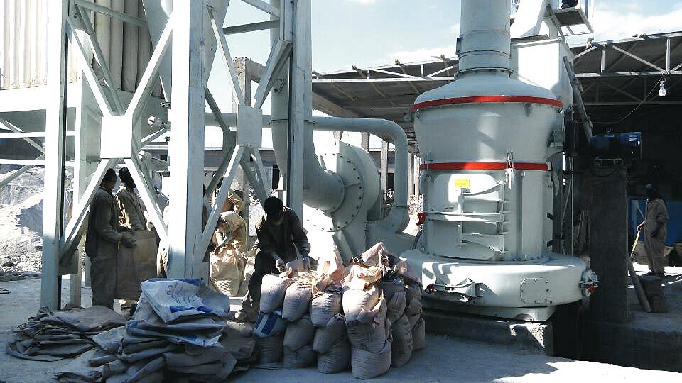 甘肃石灰石粉磨机、400目石灰石粉